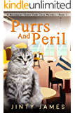 Purrs and Peril : A Norwegian Forest Café Cozy Mystery - Book 1