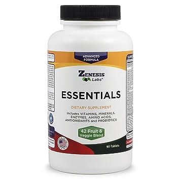 Amazon.com: Essentials – Un natural y nutrientes ricos multi ...