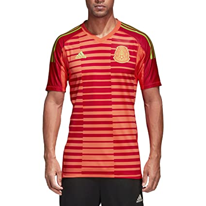 dd20a8317ee67 Adidas Jersey Original de Portero de México – Playera de local - Mundial de  futbol Rusia
