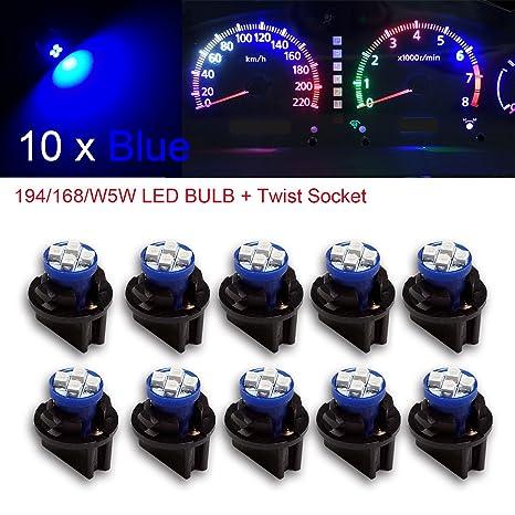 PA - Bombillas LED de 1,25 cm, con enchufe con bloqueo giratorio de