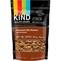 KIND Healthy Grains Clusters, Cinnamon Oat Clusters with Flax Seeds Granola, Gluten Free, Non GMO, 11 Oz