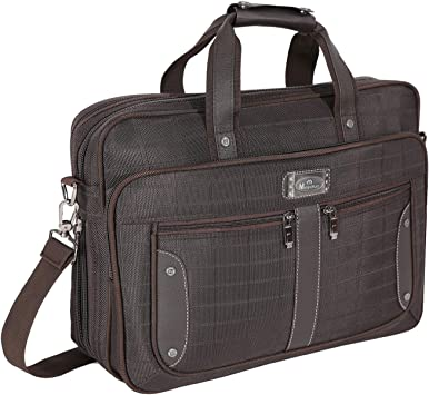 "KROSER 17/"" Laptop Bag Briefcase Fits Up to 16 Inch Water-Repellent Light..."