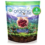Cafe Don Pablo 2LB Subtle Earth Organic Swiss Water Process Decaf - Medium-Dark Roast - Whole Bean Coffee USDA Certified Organic,2 Pound