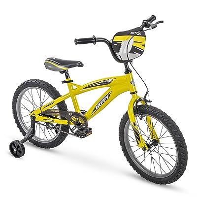 "Huffy 18"" MotoX Boys Bike, Yellow : Industrial & Scientific"