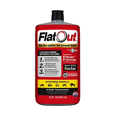 FlatOut 20130 Tire Additive (Sportsman Formula), for ATVs, UTVs Sides, Golf Carts, Dirt Bikes, Off-Road-Only Jeeps and More, 32. Fluid_Ounces: Automotive