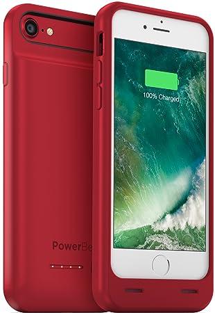 PowerBear Funda de Batería Compatible para iPhone 7 [3100mAh] Cargador Recargable Externo de Alta Capacidad (Hasta un 160% de Batería Adicional) - ...