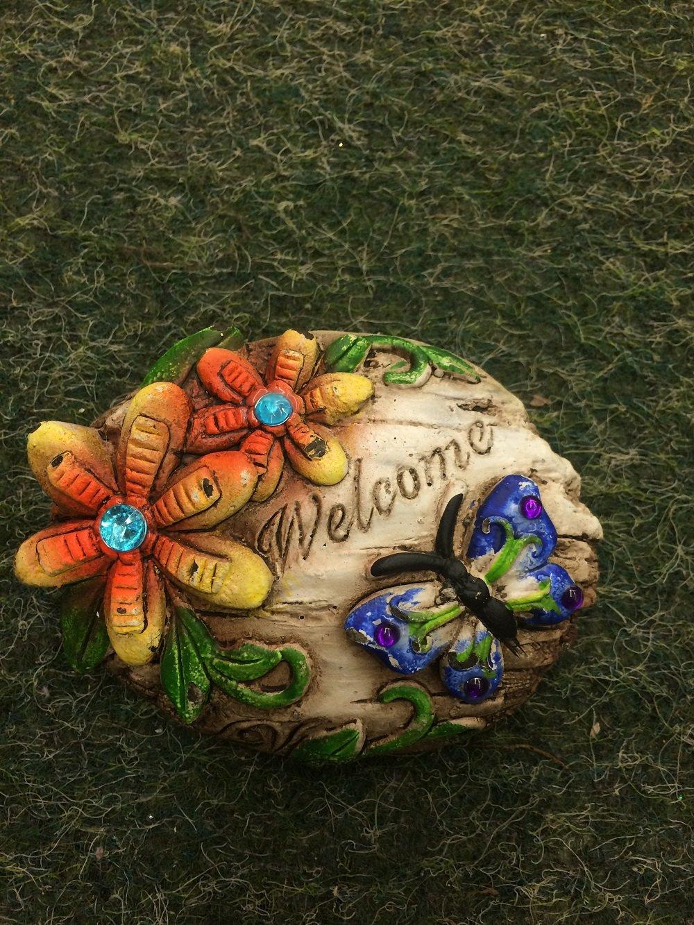 Welcome Sign Ceramic Decor