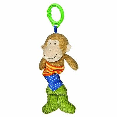 """Mary Meyer Wiggler 10"""" Toy, Mango Monkey : Crib Toys : Baby"""