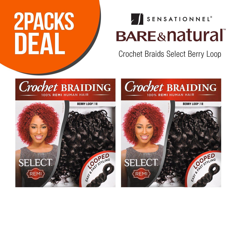 Amazon Multi Pack Deals Sensationnel Remy Human Hair Crochet