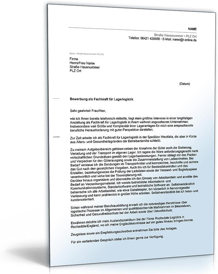 Anschreiben Bewerbung Verkaufer Word Dokument 4