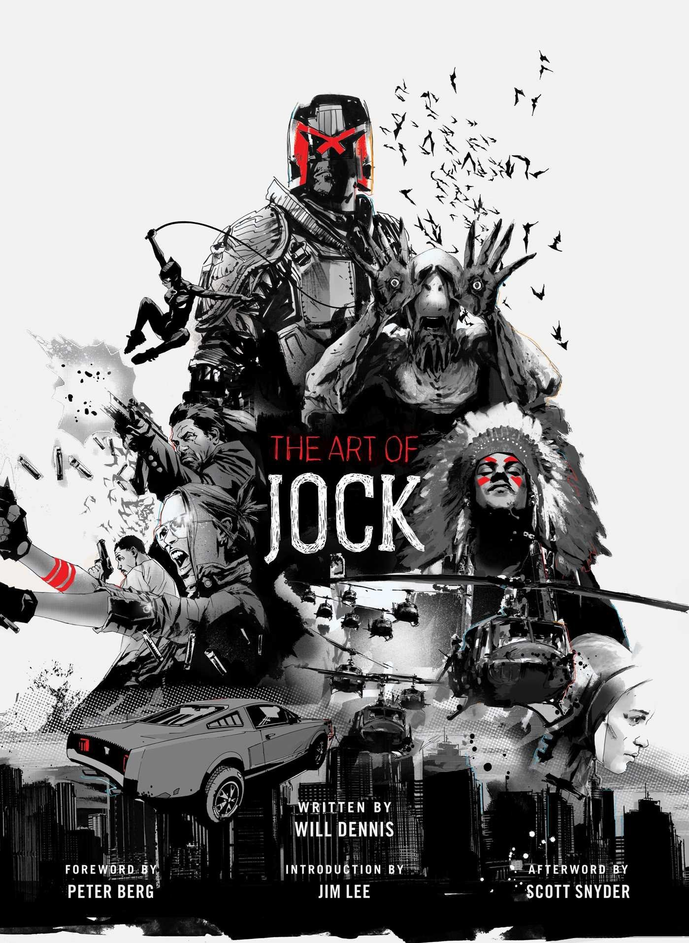 The Art Of Jock Will Dennis Jock Jim Lee Scott Snyder Peter