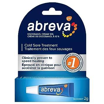 Abreva Cold Sore Treatment cream Tube 2g