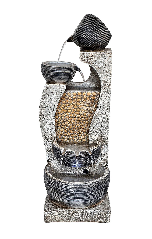 Aqua Creations Bowls on Pebble Falls Water Feature