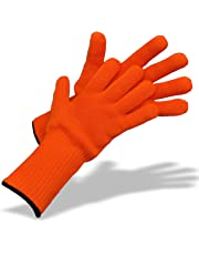Medipaq® Long Wrist Protect Heat Proof Gloves (1x PAIR) - Hold hot, even BURNING hot dishes safely!