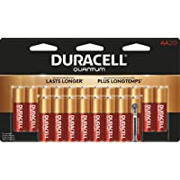 Deals on Duracell Quantum AA Alkaline Battery 20 count