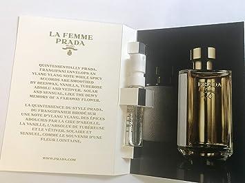 7c2299b628 4 Prada La Femme Eau de Parfum 0.05 oz/1.5 ml for Women Sample Spray Vial