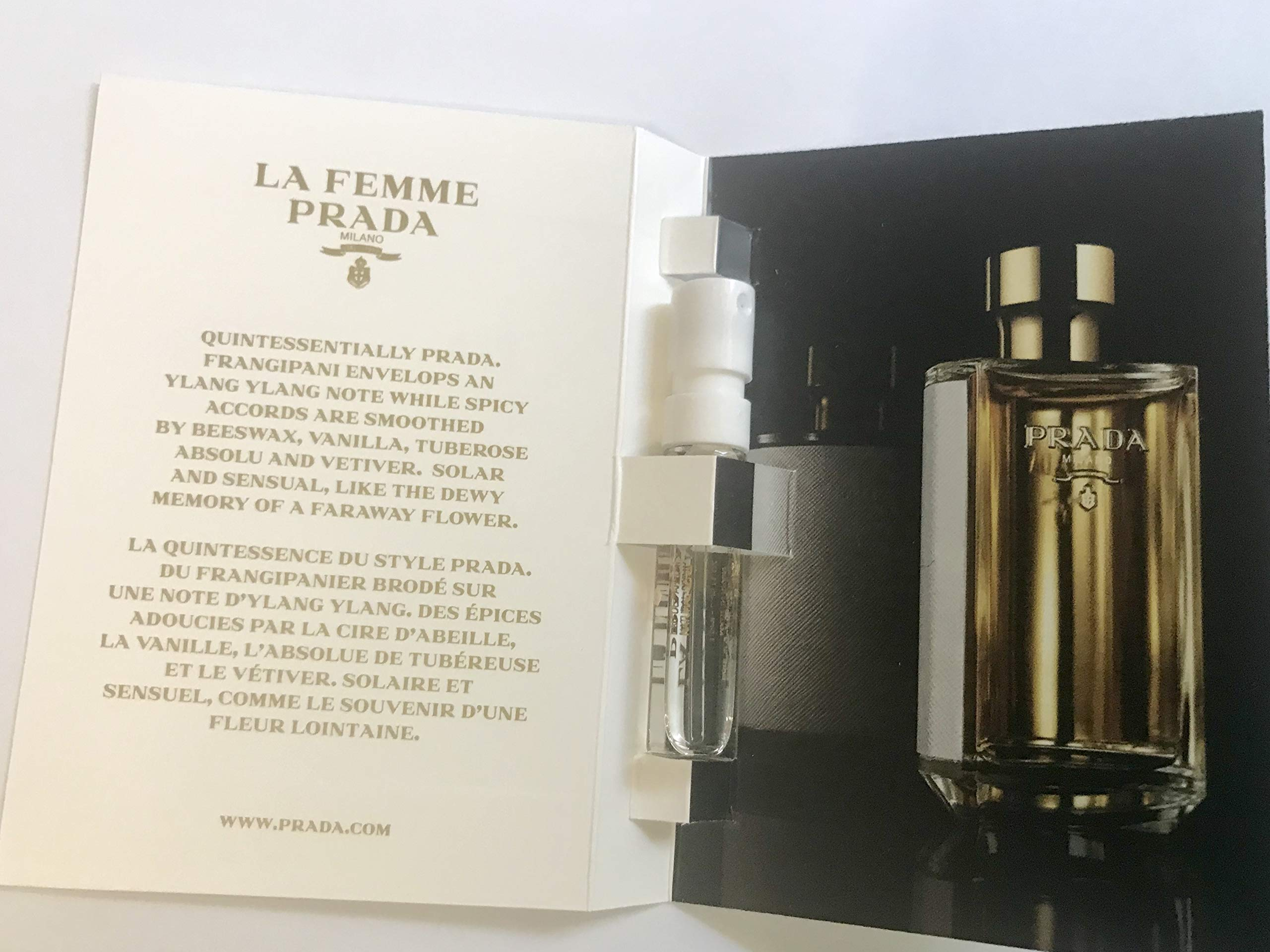 d77cd50bb6dd Amazon.com   Prada La Femme Eau De Parfum Spray, 3.4 Fluid Ounce ...
