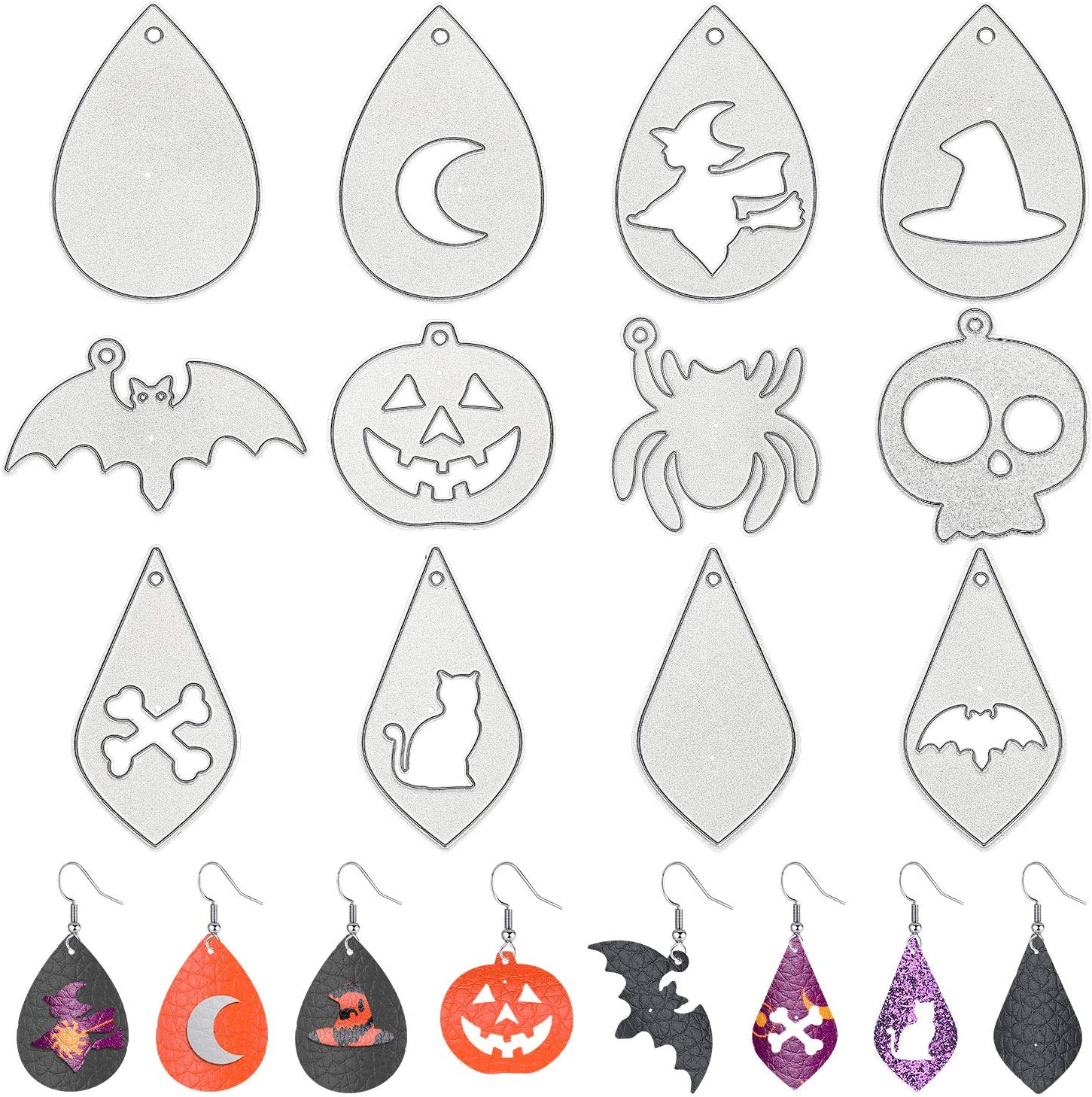 Halloween Earrings Cutting Dies