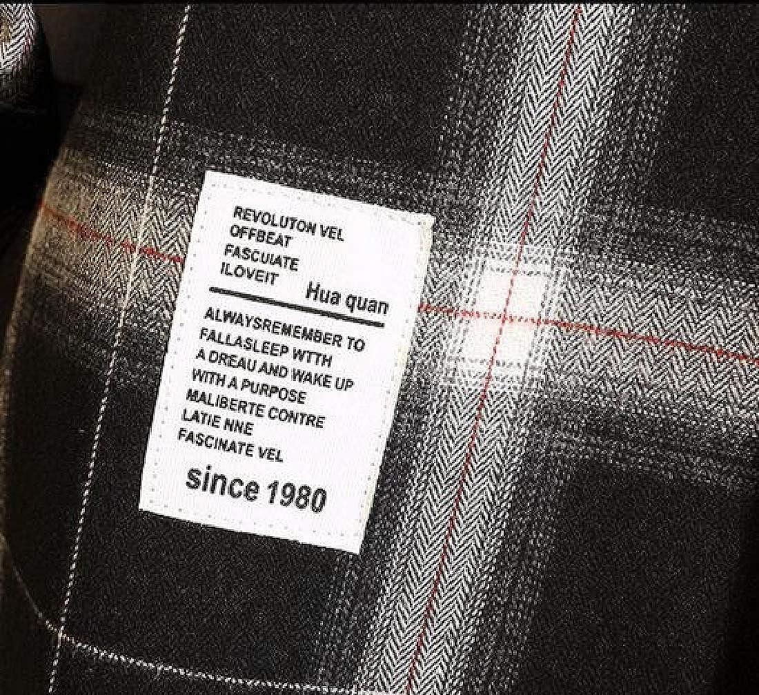 X-Future Mens Long Sleeve Slim Plus Size Fleece Dress Checkered Shirt