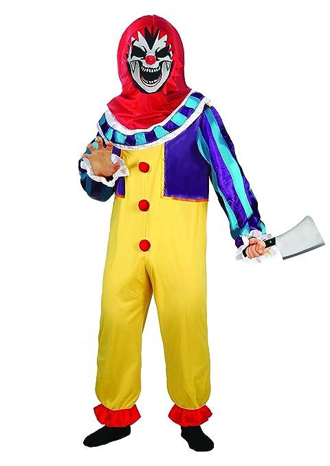 Ciao - Clown Boy Costume Horror con Mannaia per Bambini 2be5cf6898e