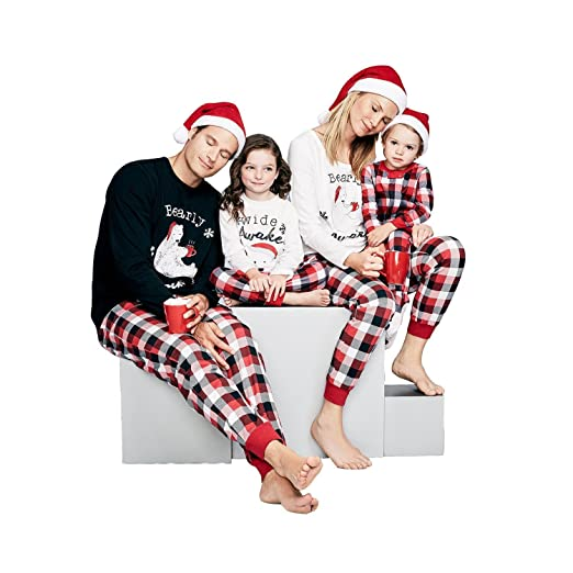 Christmas Family Pajamas Pjs Women Men Kids Baby cat Set Boxer eep  Maternity MTV Baby Girl afec1c1e5