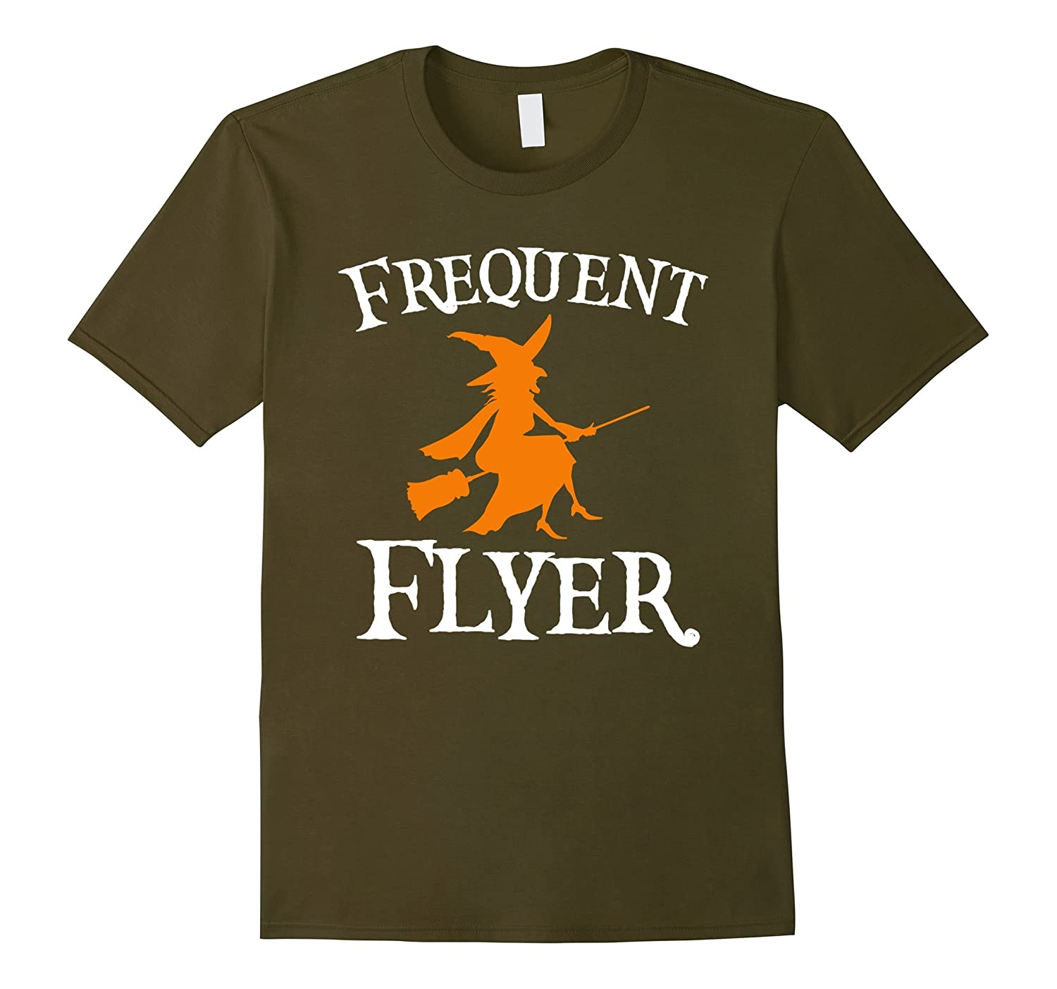 Frequent Flyer T-Shirt Perfect Halloween Tee-FL