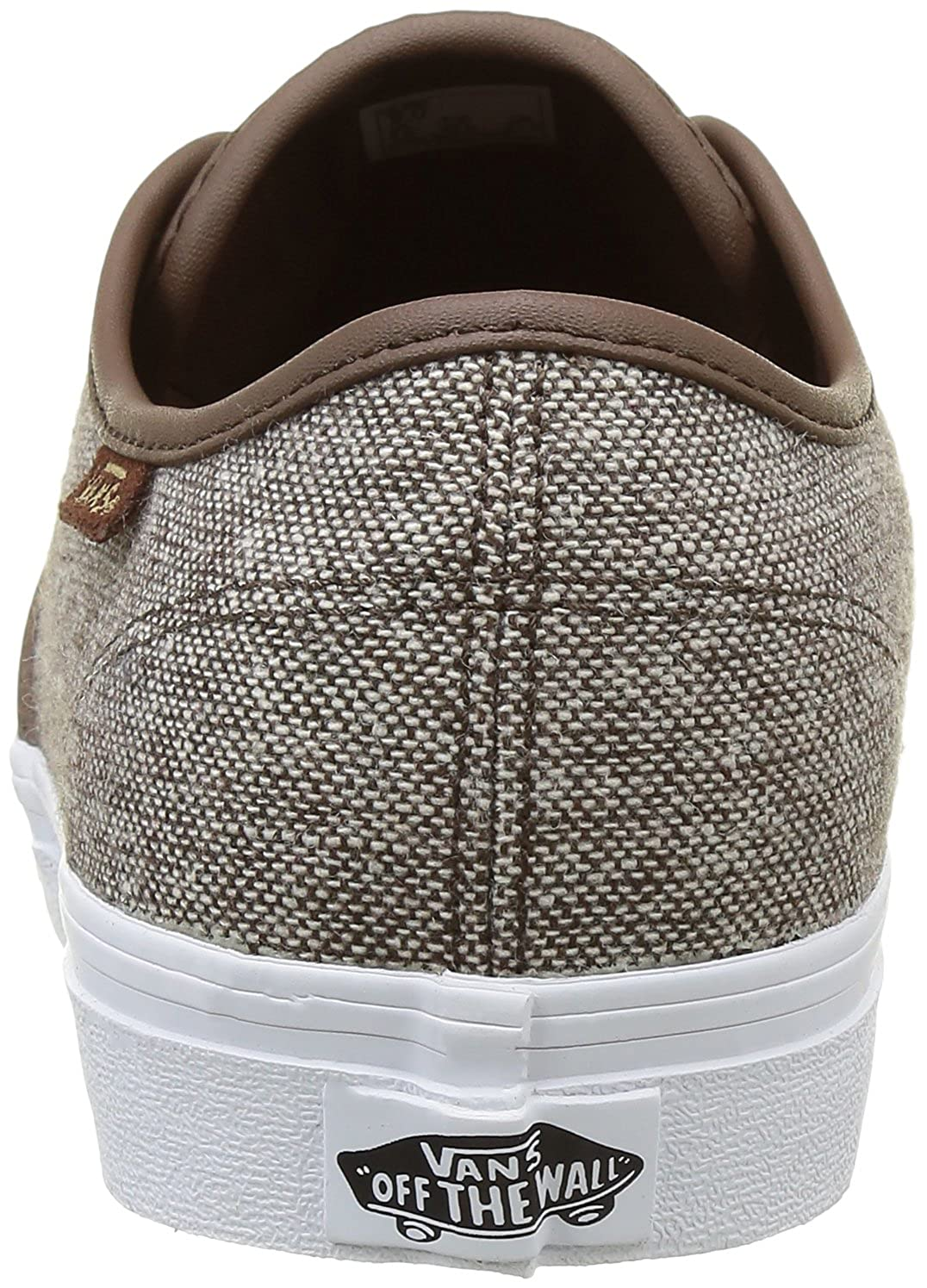 5736a41124058e Vans Men s Camden Dx Lace-Up Low-top Sneakers Brown (Tweed) 7 UK  Buy Online  at Low Prices in India - Amazon.in