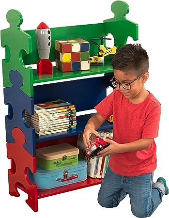 La estantería óptimo en el cuarto de los niños o sala de juegos,Ofrece un espacio increíble para gua