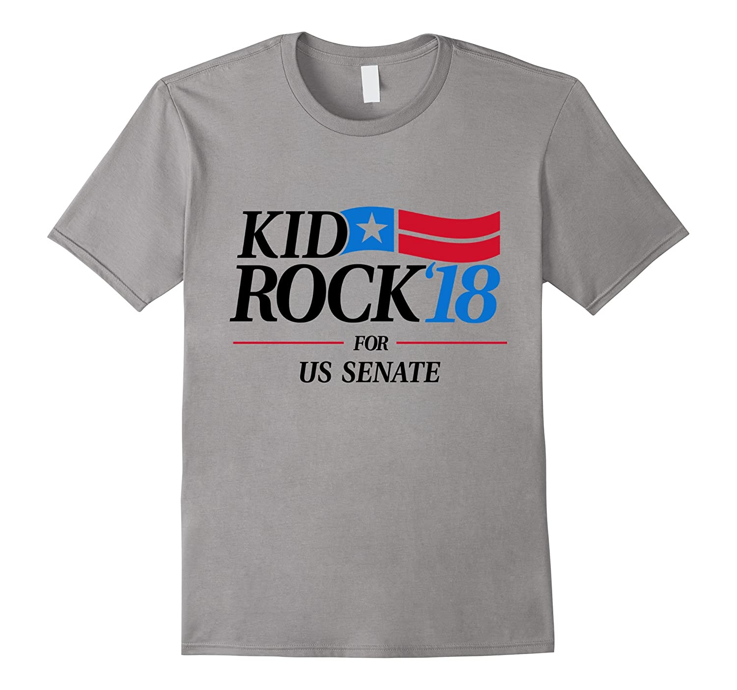 Kid for US Senate 2018 Political T-Shirt In Rock We Trust-T-Shirt