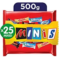 Mars Mixed Minis Chocolate, 500 g - Pack of 1