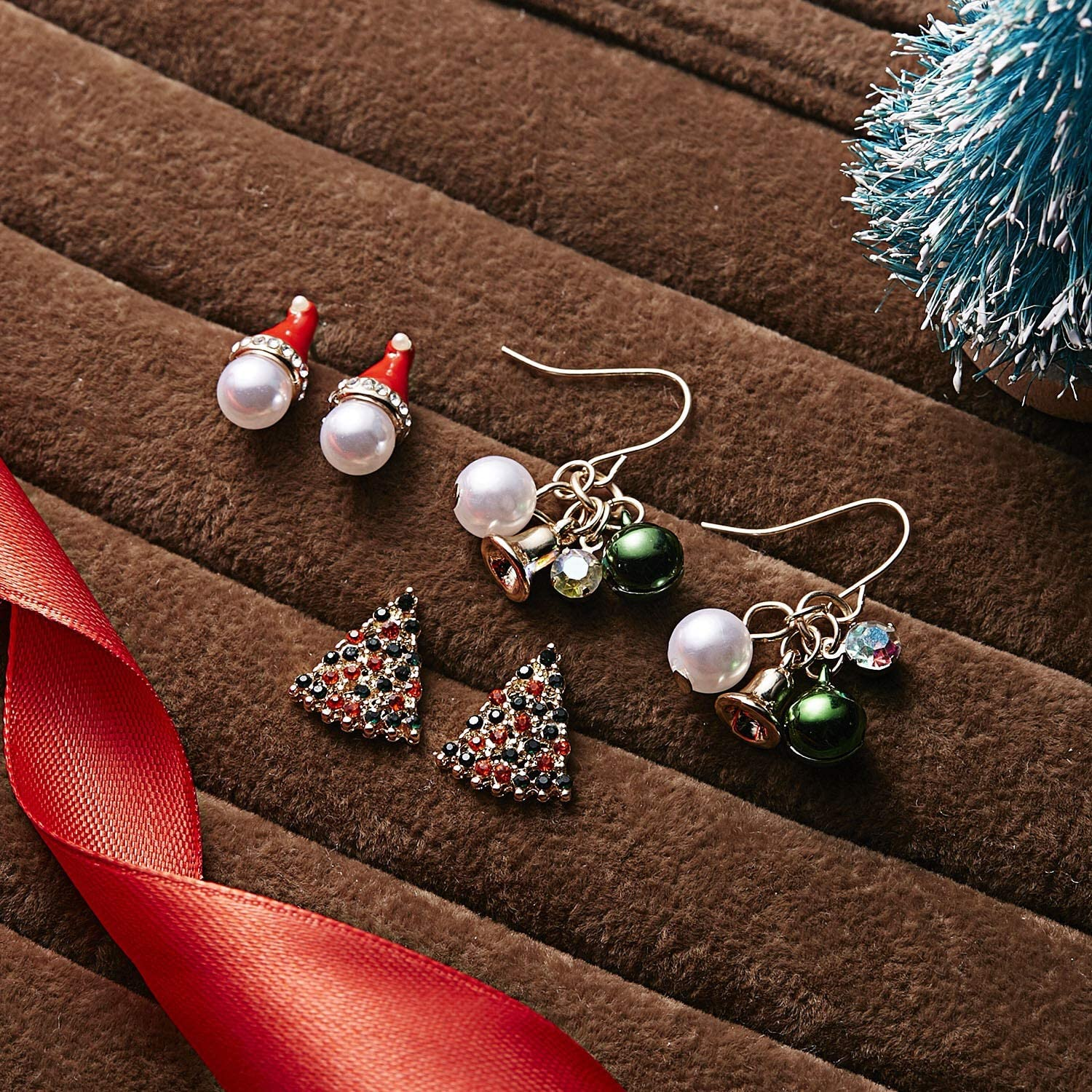 High Quality Drop Dangle Jewelry Gift Alloy Birthday Christmas Bell Earring KS