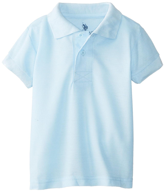 U.S. Polo Association Little Boys' Short Sleeve Cotton Pique U.S. Polo Assn T46617