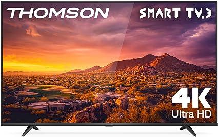 Oferta amazon: THOMSON 65UG6300 - Televisor LED de 65 pulgadas, Smart TV con 4K UHD, Dolby Audio           [Clase de eficiencia energética A++]