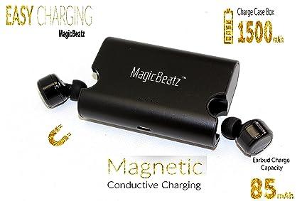 bd475114985 [Black] M-beatz Sports True Wireless Headphones Bluetooth Earbuds with  Microphone Wireless Earphones