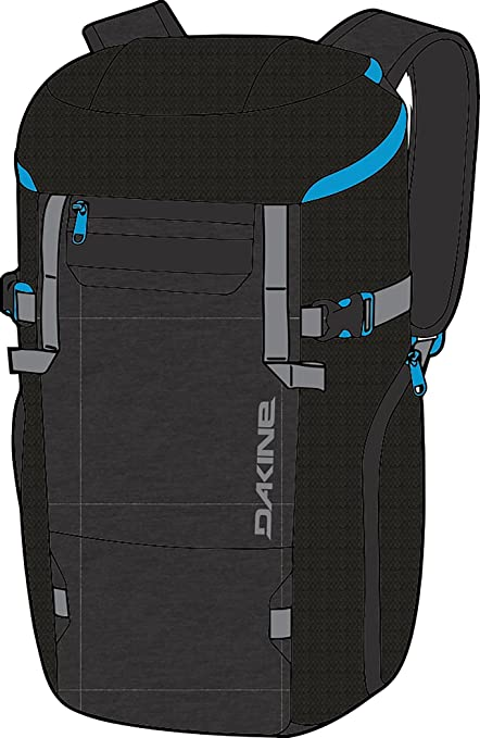 ec5d20d73638 Amazon.com   Dakine Transfer DLX Boot Pack 35L Ski Boot Bag - Tabor ...