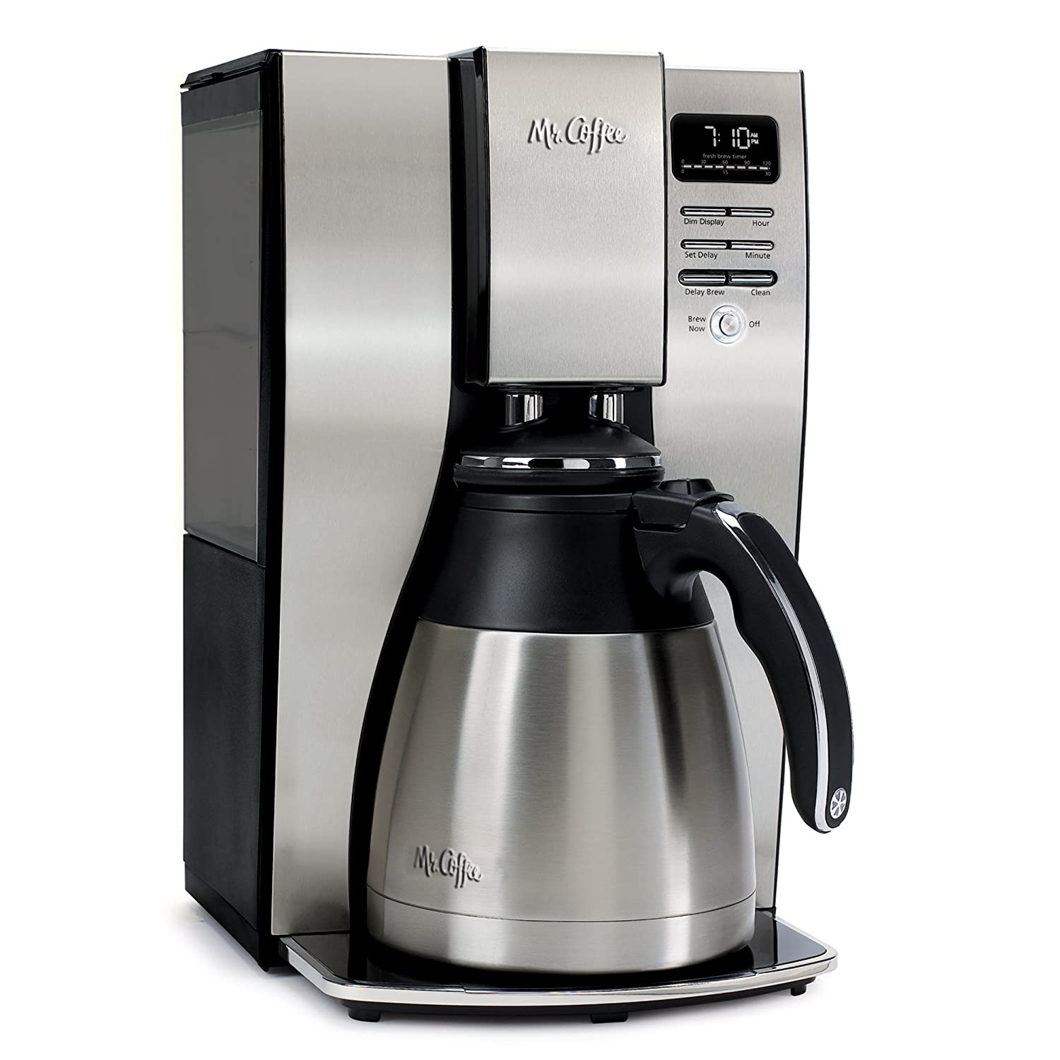 coffee maker with removable water reservoir