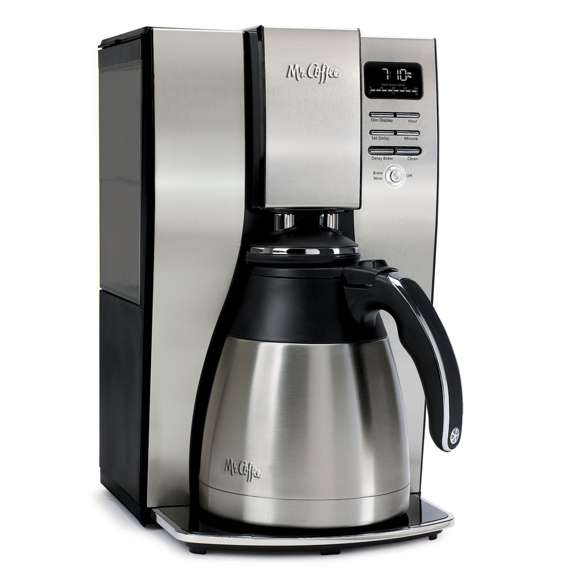 Mr. Coffee 10-Cup Optimal Brew Thermal Coffee Maker, Stainless Steel by Mr. Coffee