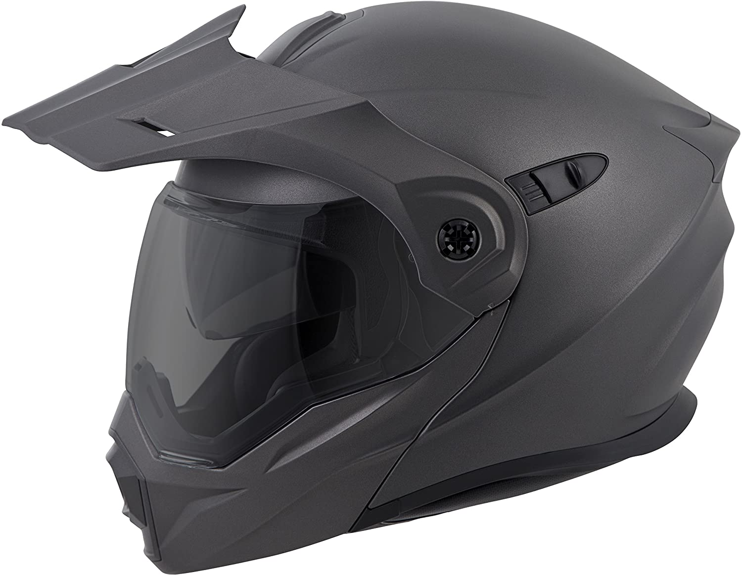 Amazon.com: ScorpionEXO Unisex-Adult Modular/Flip Up Adventure Touring Motorcycle Helmet (Anthracite, Medium) (EXO-AT950 Solid): Automotive