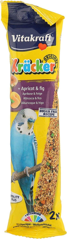 VITAKRAFT barritas de albaricoque y higo para periquitos bolsa 60 gr