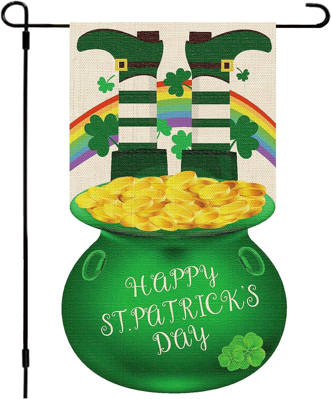 Whaline St. Patrick's Day Garden Flag 12.8x18.8