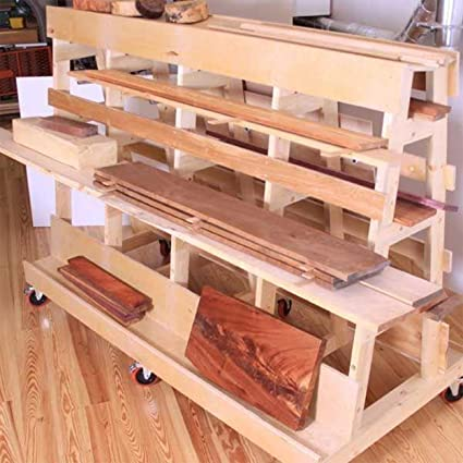 Woodworking Project Paper Plan To Build Lumber Sheet Goods Storage