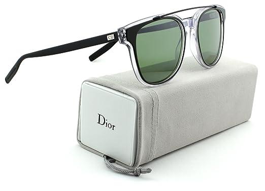 b2f29dbb518 Amazon.com  Dior Homme Black Tie 211S Khaki Crystal Black Frame ...