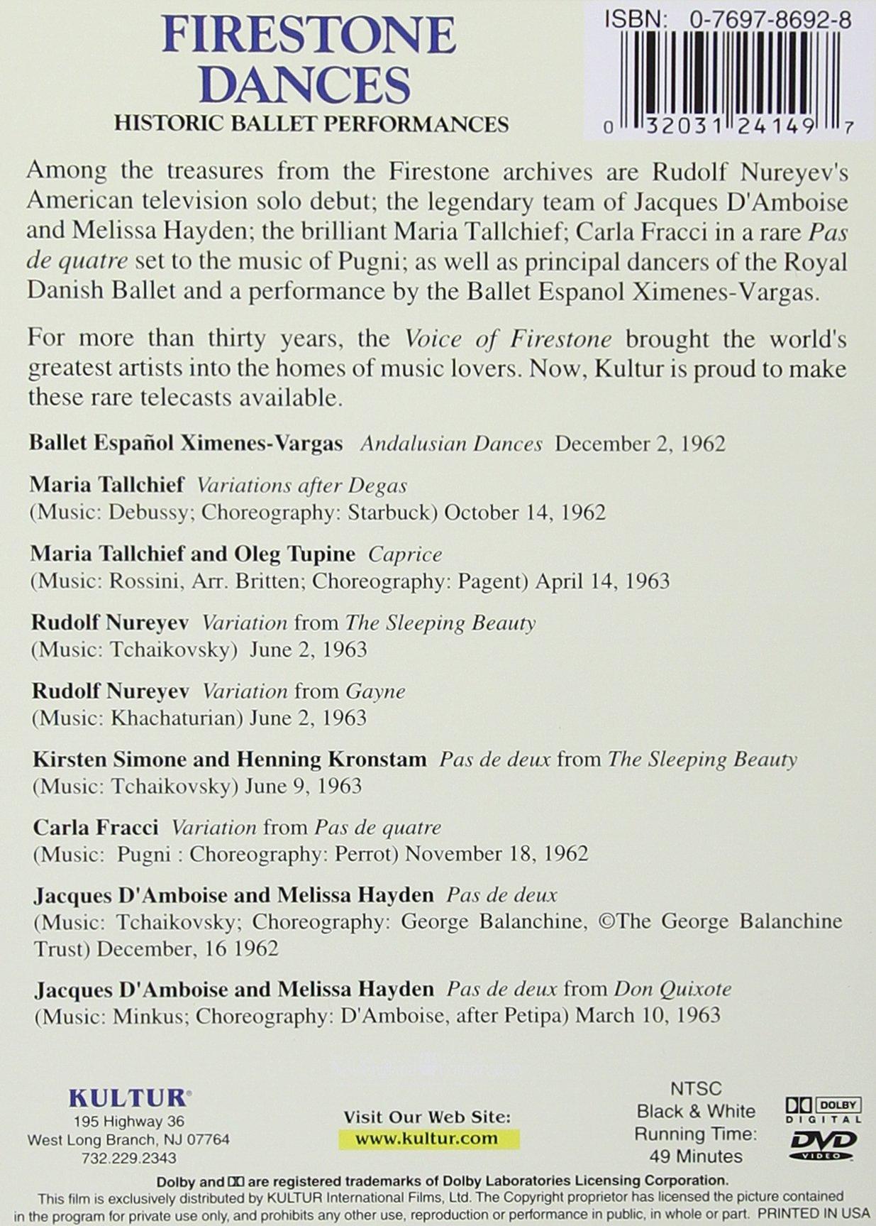 Firestone Dances: Historic Ballet Performances