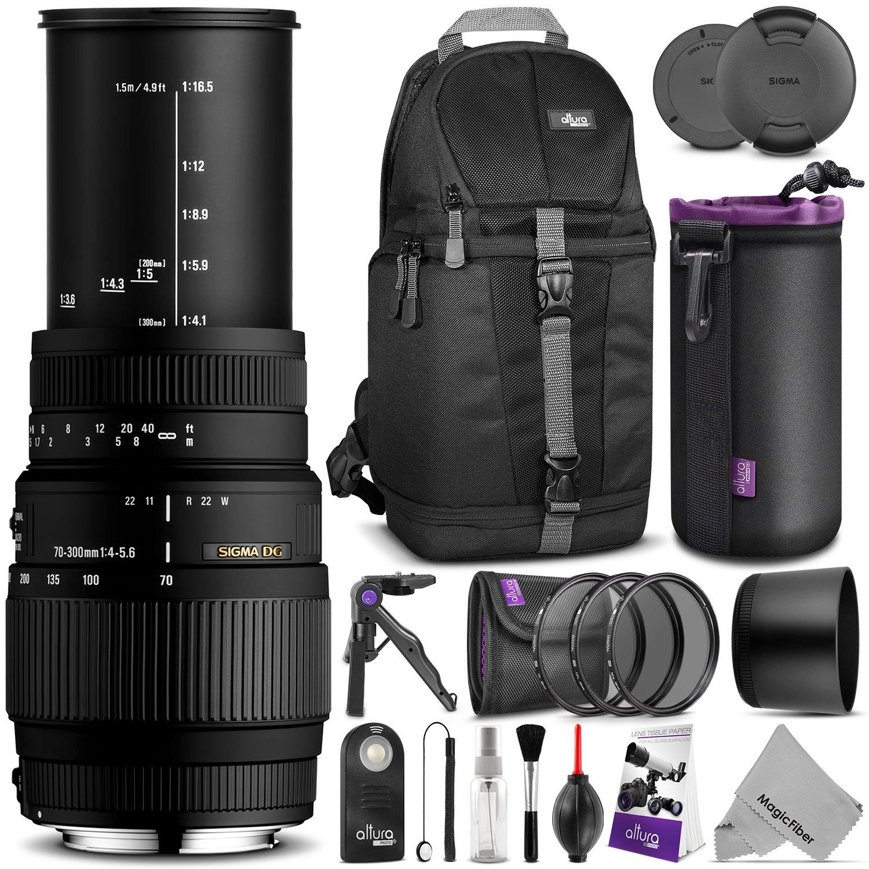Sigmaレンズ/ 70 – 300 mm f / 4 – 5.6 DG Macro Nikon 2) Advanced KM0429 2) Advanced  B00JJ2Y0SS