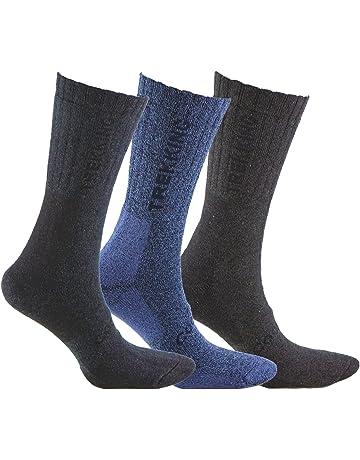 Calcetines COOLMAX de TREKKING (3 pares), ideal para deportes de invierno (esquí