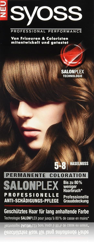 syoss 5 – 8 avellana Color del pelo (3 unidades, X 115 ml ...