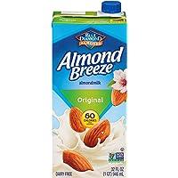 Almond Breeze Dairy Free Almondmilk, Original, 32 FL OZ