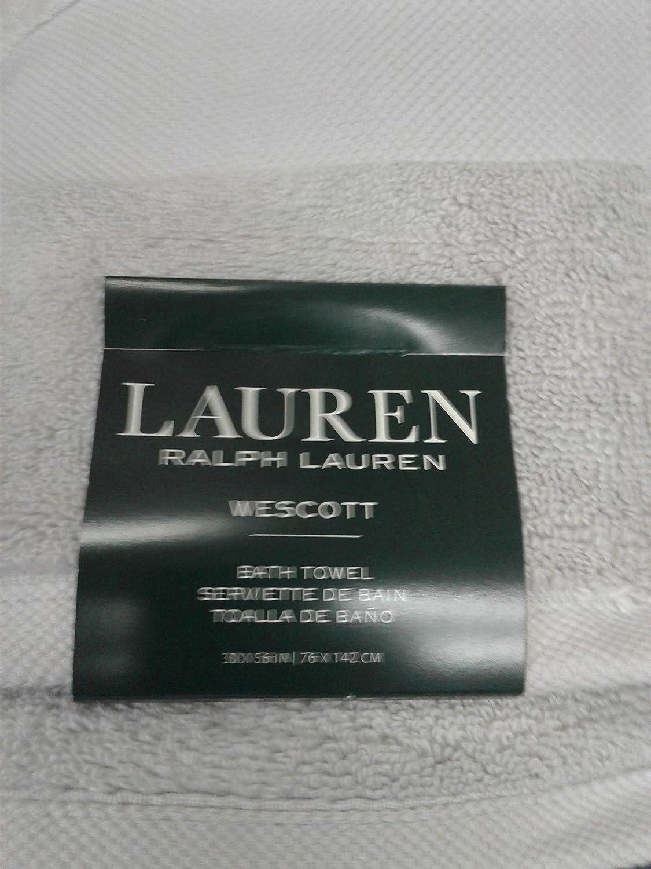 Ralph Lauren Wescott Toalla de baño, Capa, Gris, tamaño: Toalla de ...