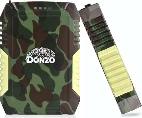 Donzo Pb 02wr Powerbank Military Style Wasserfest Elektronik