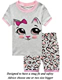 Amazon Price History for:Little Cat Girls Short Pajamas Butterfly Sleepwear 100% Cotton Summer Toddler Pjs Clothes Shirts